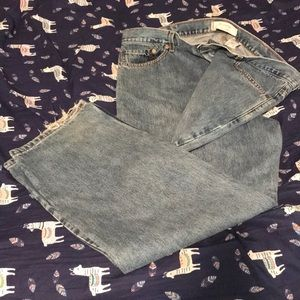 Levi Strauss blue jeans relaxed fit 550 W42 L30